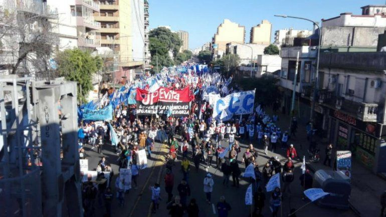 Los organizadores de la Marcha Federal reclamaron un paro nacional