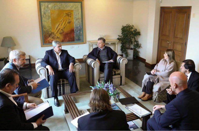 Macri realizó un relevamiento de la situación de las provincias del NOA