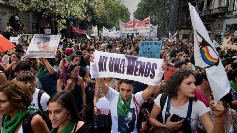 #NiUnaMenos: marchas contra la violencia de género y para pedir por el aborto legal