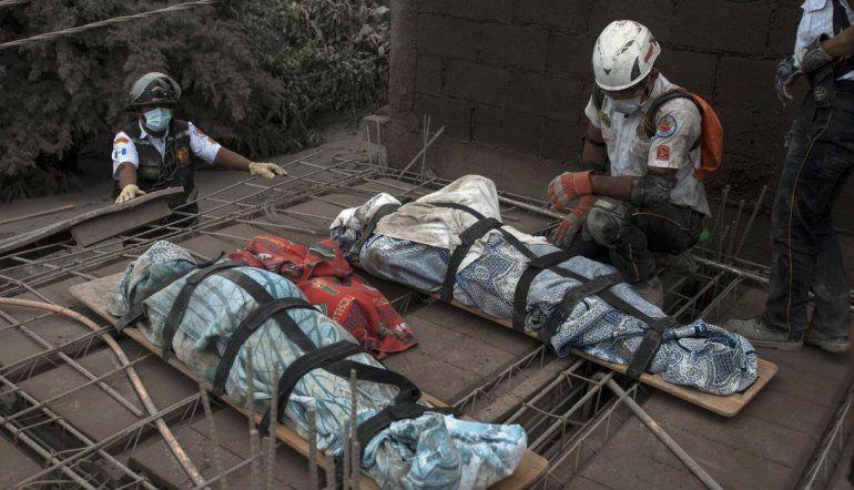 Catástrofe en Guatemala: al menos 69 muertos por la erupción del volcán de Fuego
