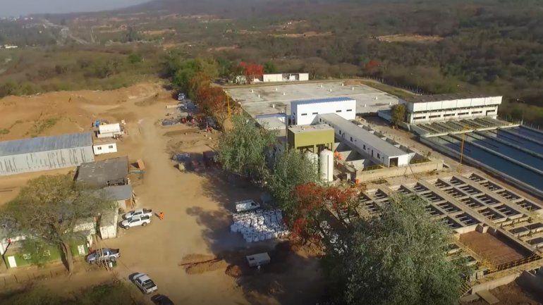 Inversión en agua potable: abastecerán a más de 400 mil habitantes con una obra en Reyes