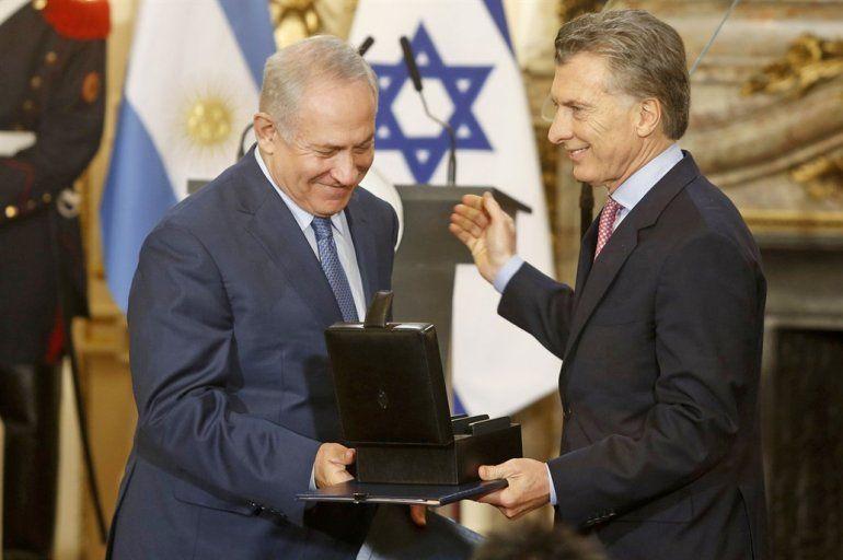 Israel llamó a Mauricio Macri