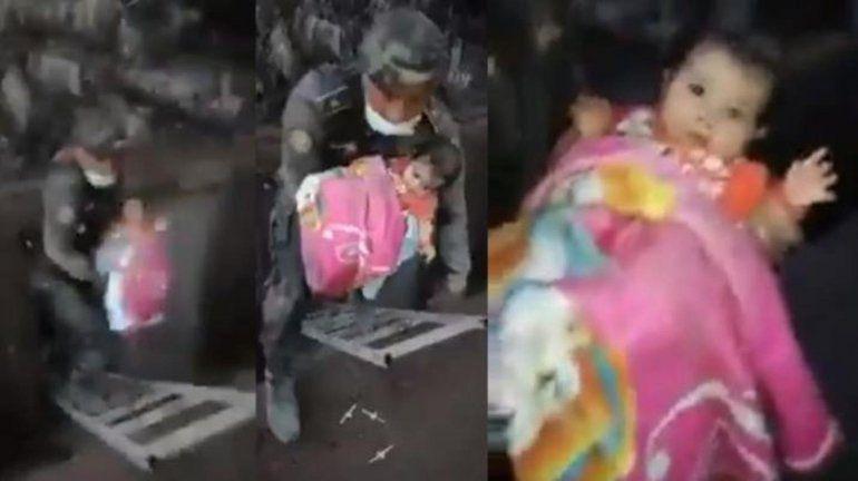 Guatemala: el rescate de una beba de 6 meses en el medio del desastre