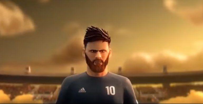 Emocionante: una publicidad recreó la vida de Lionel Messi en dibujos animados