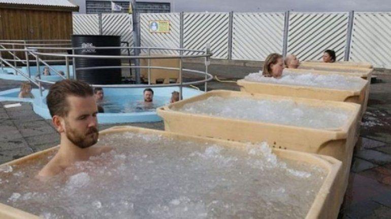 Insólito torneo helado que aman los islandeses. Mirá de que se trata