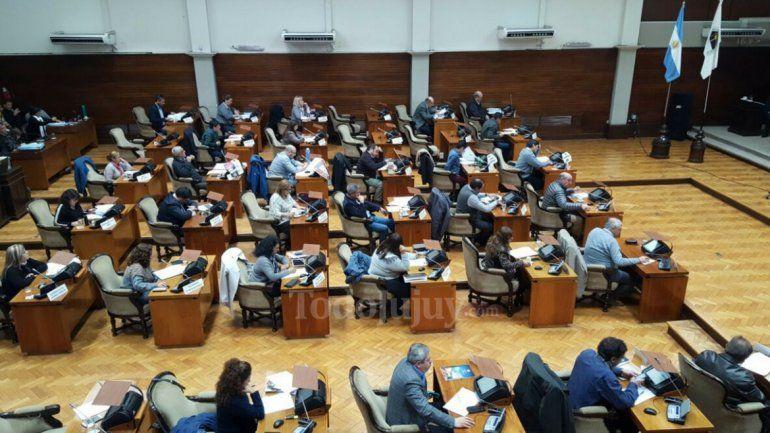 Sesión legislativa: tratan el desalojo por falta de pago