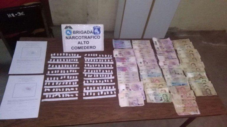 Secuestro de droga y dinero