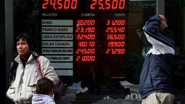 Sin el techo del Banco Central, el dólar ya llega a los $ 26