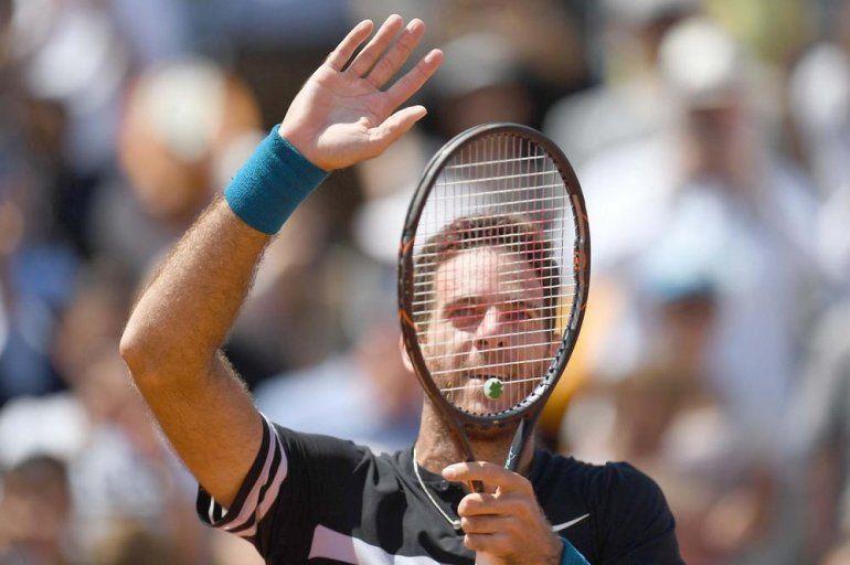 Del Potro perdió con Nadal y se despidió de Roland Garros
