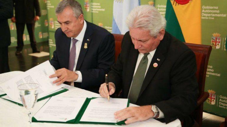 Integración: Jujuy y Santa Cruz de la Sierra firmaron un acuerdo