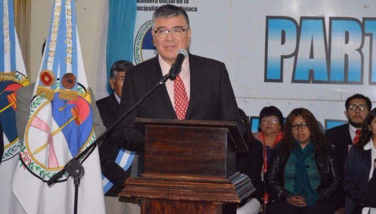 El intendente de La Quiaca sufrió un fuerte choque en Ruta 9