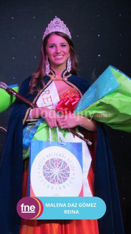 Malena es la nueva reina de la Escuela Cristiana Evangélica Che Il