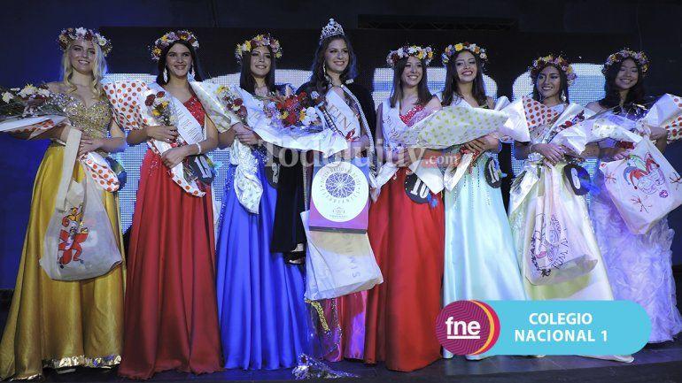 Zoi Lypnik es la nueva reina del Colegio Nacional N°1