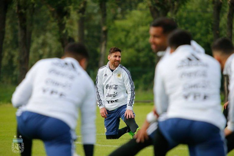 La Selección argentina fue sometida a un control antidoping sorpresa