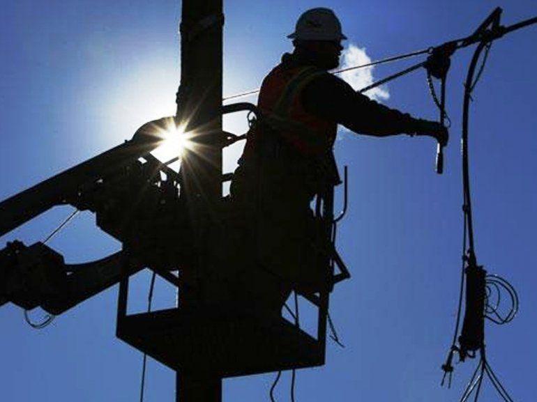 Se normaliza el servicio de luz luego del temporal de viento norte