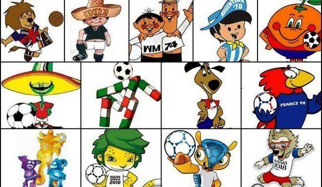 Las mascotas, Mundial por Mundial... ¿Cuál fue tu favorita?