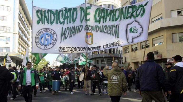 Moyano ratificó un paro nacional de camioneros para el jueves