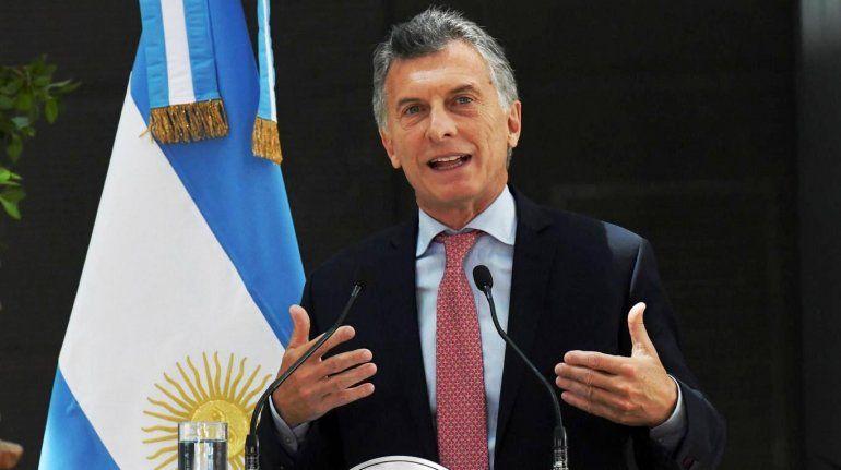 Mauricio Macri: Ahora vamos por menos gradualismo