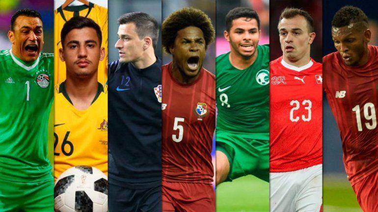 El gordo, el flaco, el alto y el bajo. ¿Quiénes son los jugadores más llamativos de Rusia?