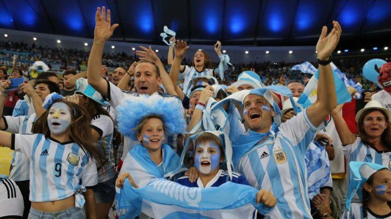 El hit de la hinchada argentina en Rusia ¿Tiene origen jujeño?