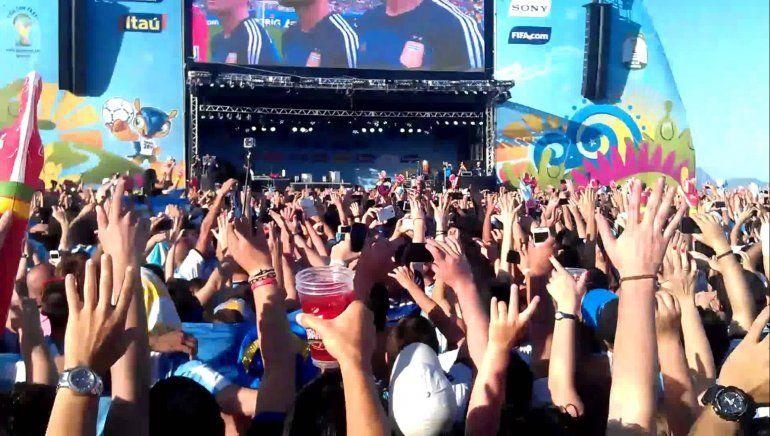 Habrá pantallas gigantes en Plaza Belgrano para ver el debut de Argentina ante Islandia