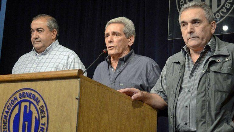 La CGT suspendió las elecciones y decidió mantener al triunvirato al frente de la central obrera