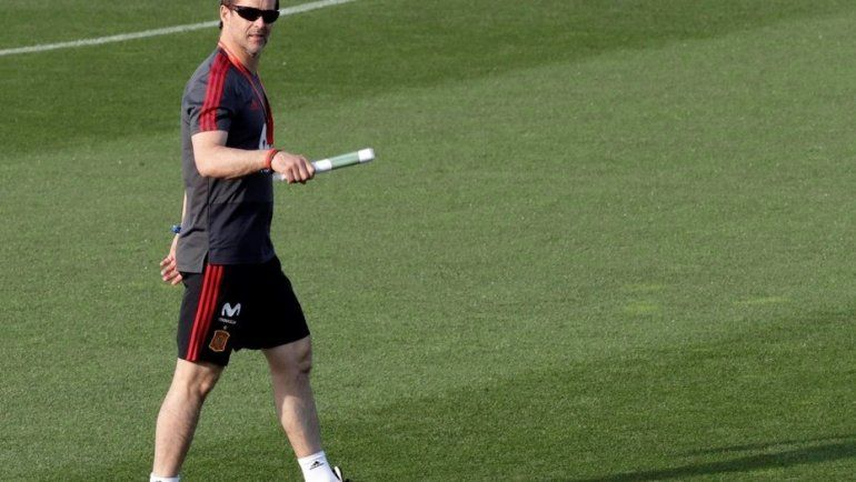 Julen Lopetegui será el entrenador de Real Madrid después del Mundial
