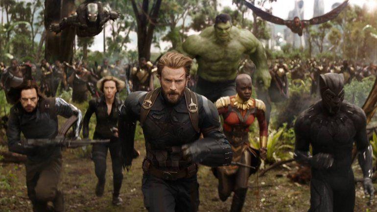 Avengers: Infinity War es la cuarta película en recaudar 2 mil millones de dólares