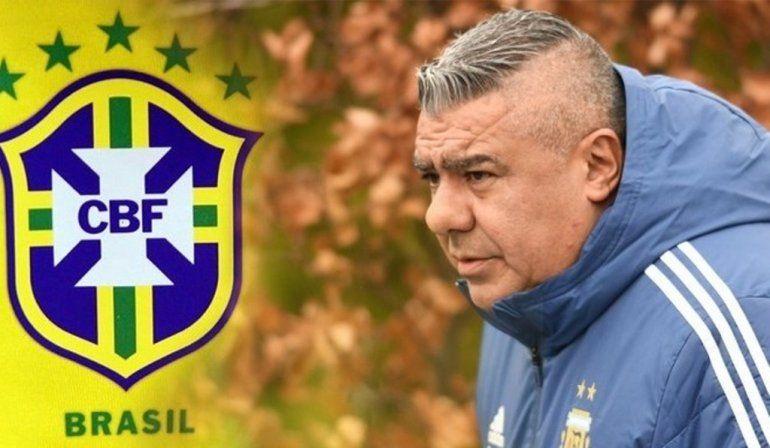El Chiqui Tapia no anduvo con vueltas y se calentó con Brasil