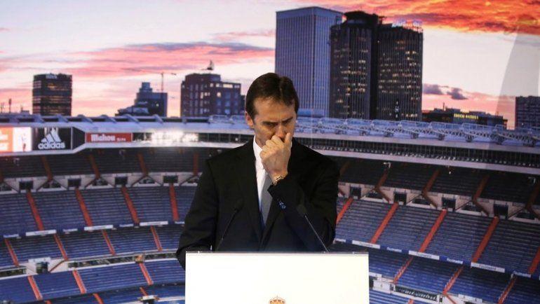 Real Madrid presentó a Lopetegui en medio de la guerra con la Federación
