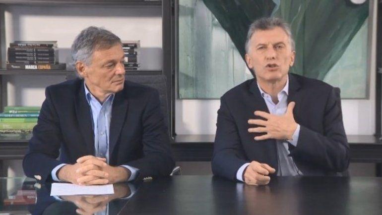 Mauricio Macri desplazó a Aranguren de Energía y Cabrera de Producción