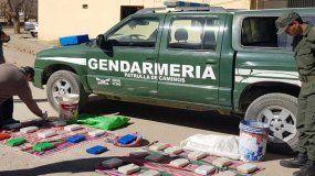 Intentó ingresar más de 27 kg. de cocaína desde Bolivia hacia La Quiaca