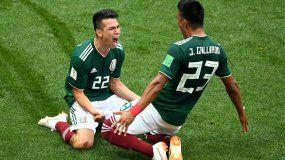 México le ganó a Alemania