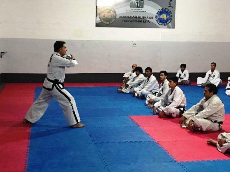 En Perico se creó la Asociación Civil de Taekwon-do ITF