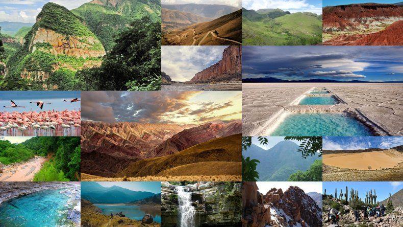 Mirá cuáles son los lugares de Jujuy nominados para ser las maravillas de Argentina