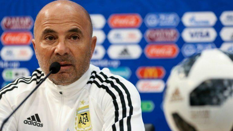 Sampaoli no confirmó a los titulares pero admitió que Pavón podría jugar