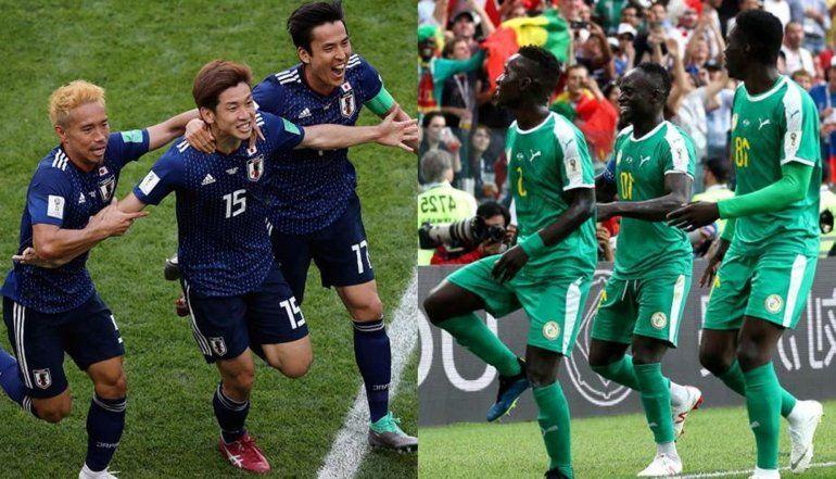 Japón empató con Senegal en uno de los grupos más sorpresivos del Mundial