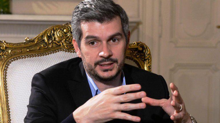 Marcos Peña: El paro es simplemente político, no hay una consigna detrás
