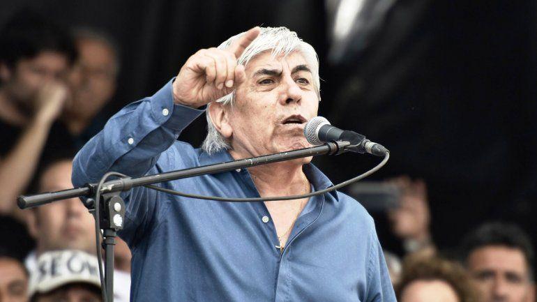 Moyano criticó la gestión de Macri Actúa como un gobierno de facto