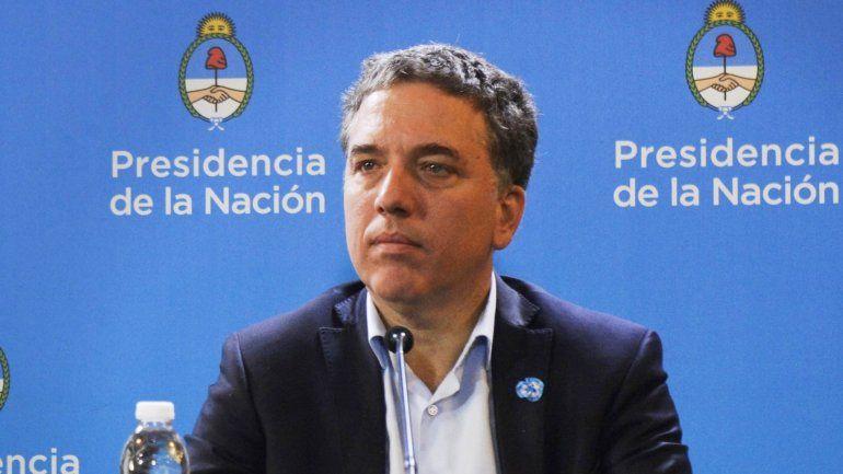 Dujovne aseguró que la inflación caerá 10 puntos desde el nivel que alcance este año