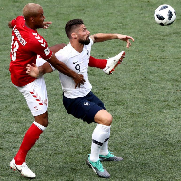 Francia 0 - Dinamarca 0: Los galos esperan por Argentina, Nigeria o Islandia