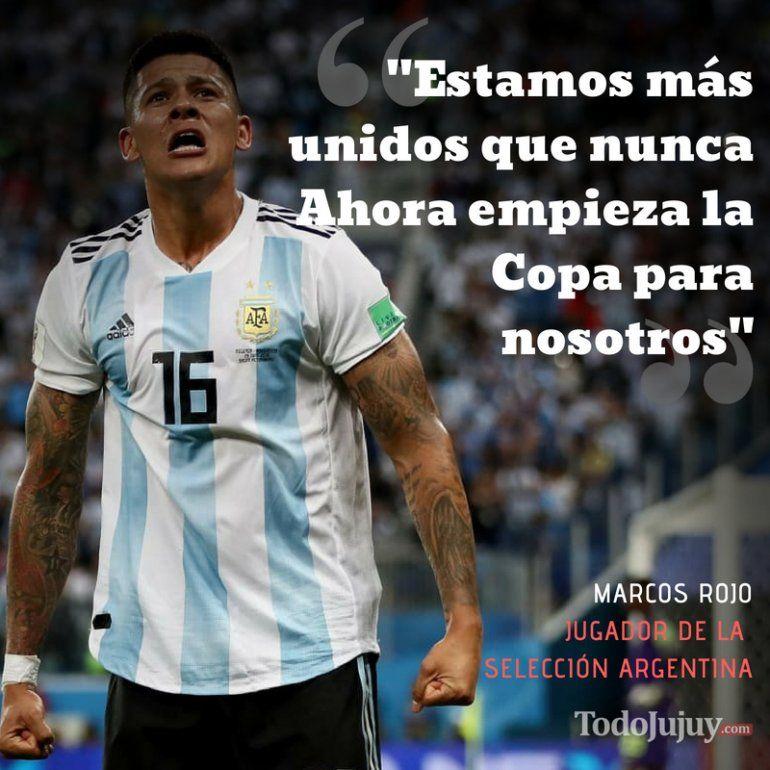 Marcos Rojo, el héroe de Argentina: ahora empieza la Copa para nosotros