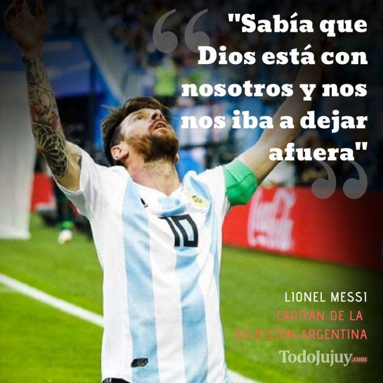 Messi emocionado por la clasificación: Quedar afuera en primera ronda hubiese sido un final de ciclo muy injusto