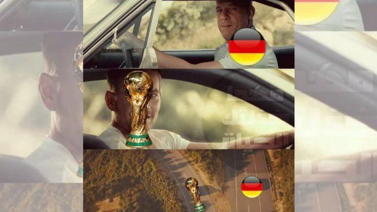 Los memes no perdonaron: las redes sociales se valieron de la creatividad para mostrar la eliminación de Alemania del Mundial