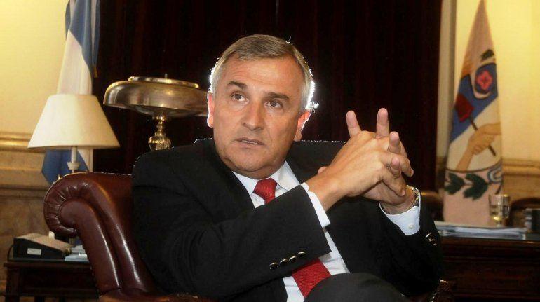 Gerardo Morales: La situación económica no cubre las expectativas que teníamos