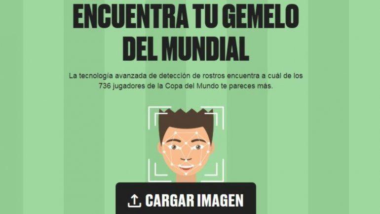 Furor por una app que muestra a qué jugador del Mundial te parecés