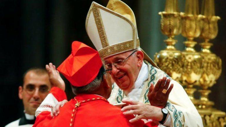 El Papa consagró al primer cardenal indígena latinoamericano