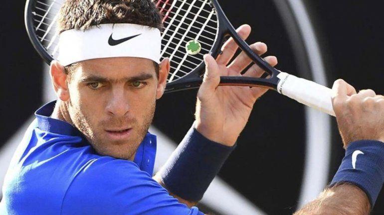 Del Potro debuta en Wimbledon, donde buscará avanzar en el ranking