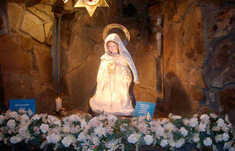 Aseguran haber capturado la imagen de la Virgen del Cerro en el cielo de Salta