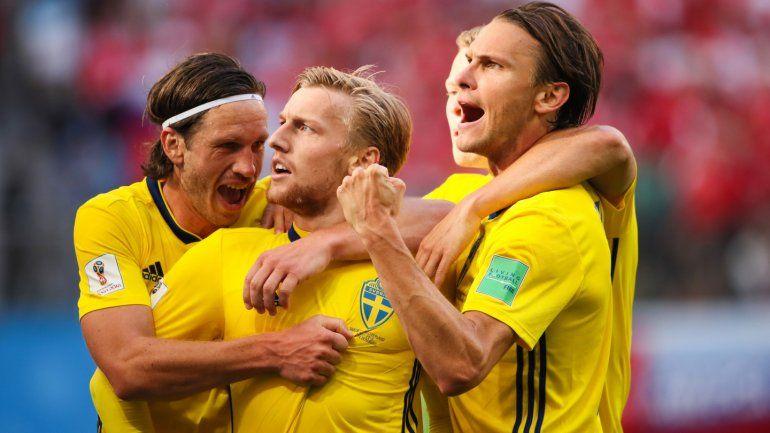 Suecia 1 - Suiza 0: un nuevo equipo en cuartos de final del Mundial de Rusia